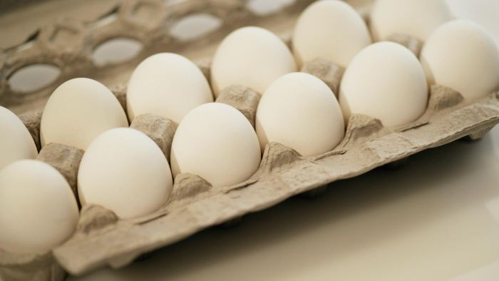 What is the average price of a dozen eggs?