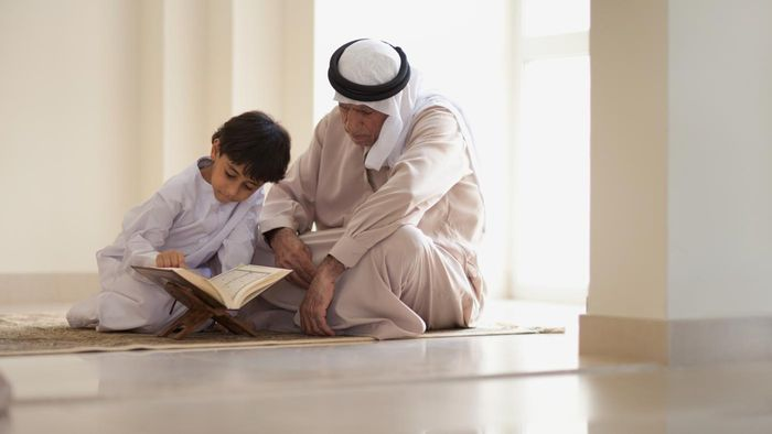 What is the name of the holy book of Islam?