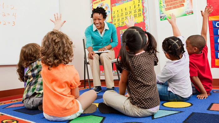 What is the role of a playgroup leader?