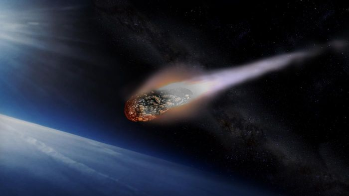 What is the speed of an asteroid?