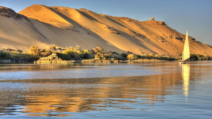 Where does the Nile River originate?