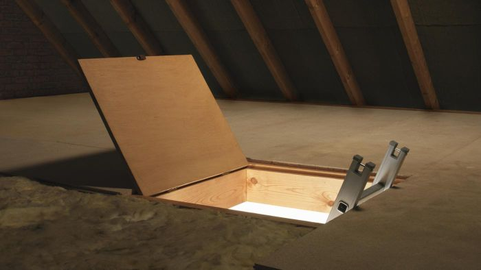 How do I wire lights in my attic?