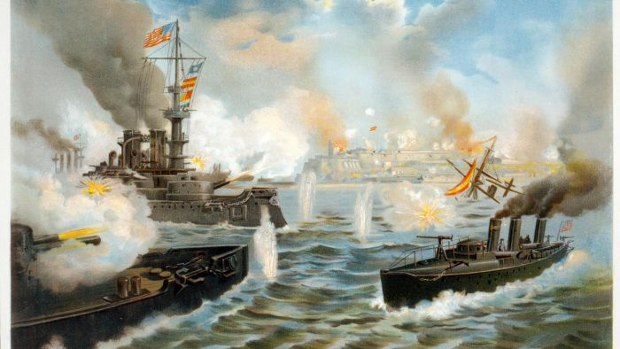 Who won the Spanish-American War?