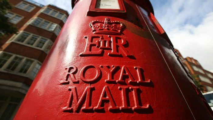 What year did the Royal Mail start?