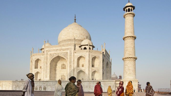 What Year Was the Taj Mahal Built?