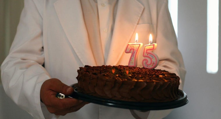 What Is a 75th Birthday Called?