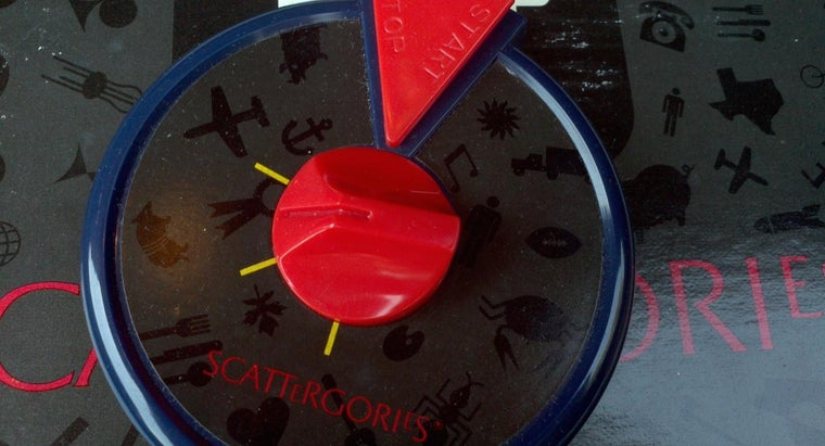 How Long Does the Timer in Scattergories Last?