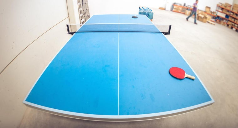 What Is the Standard Size of a Ping Pong Table?