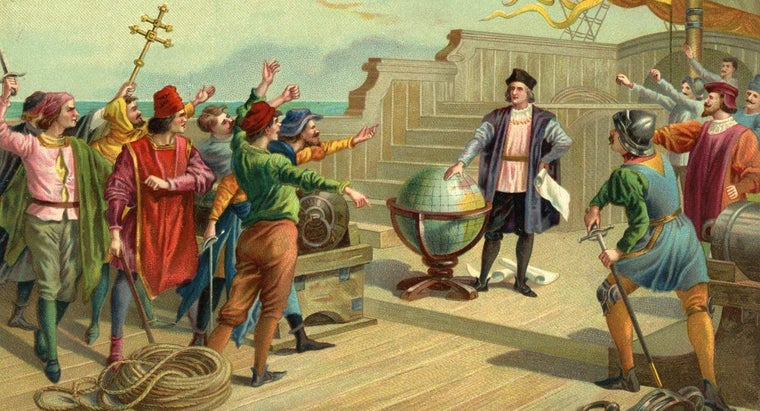 How Long Did It Take Columbus and His Crew to Cross the Atlantic Ocean?