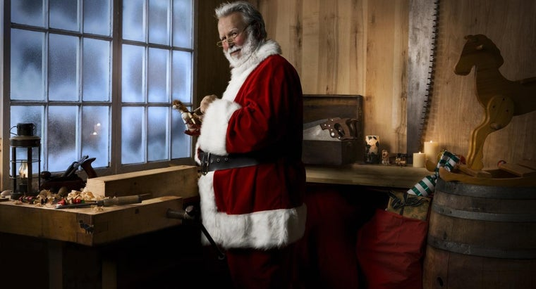 According to Legend, Where Does Santa Live?