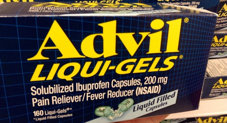 What Are the Active Ingredients in Advil?