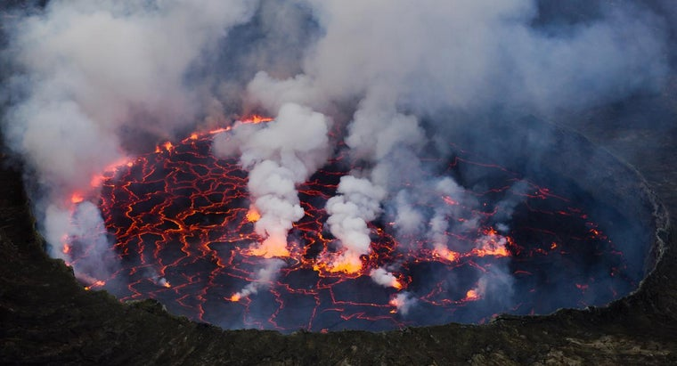 How Many Active Volcanoes Are in Africa?