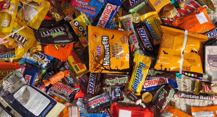 What Are Annual Halloween Candy Sales?