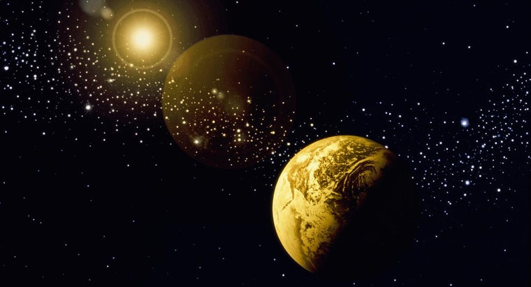 Are the Stars Bigger Than the Earth?