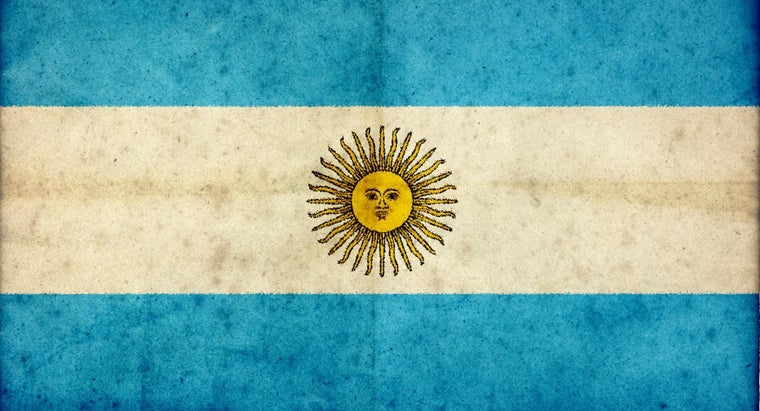 What Do The Argentina Flag Colors Mean Reference