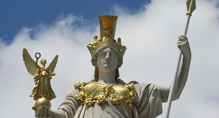 Who Are Athena's Allies and Enemies?
