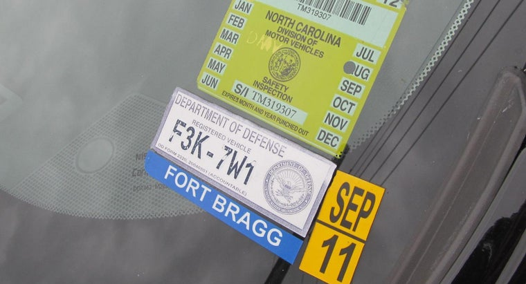 What Are Automobile Inspection Stickers?
