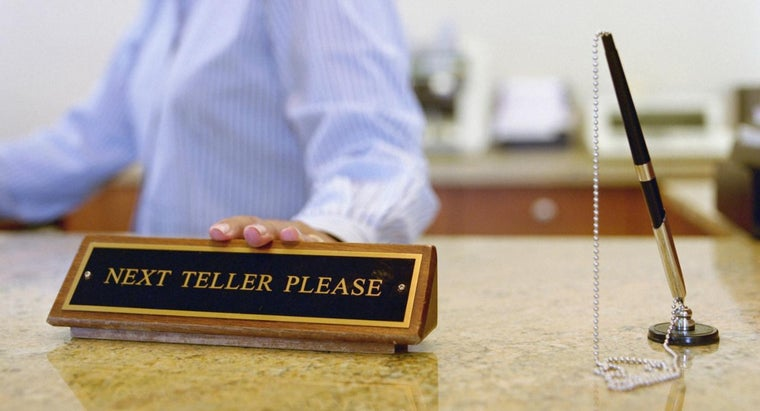 What Is a Bank Teller Assessment Test?