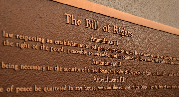 When Was the Bill of Rights Added to the Constitution?