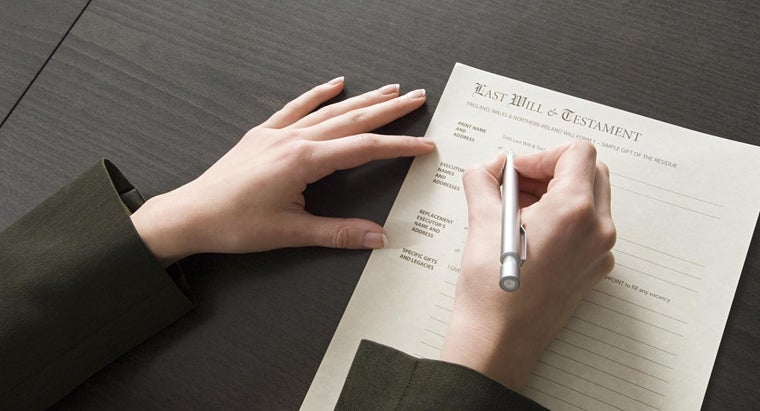 What Is a Blank Last Will and Testament Form?