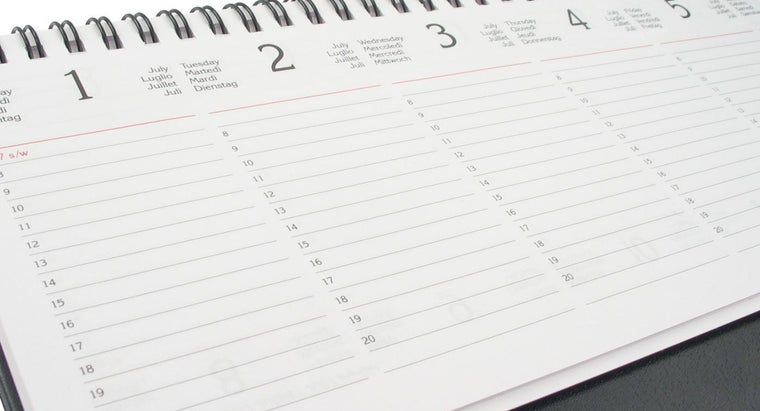 How Do I Get Blank, Printable Weekly Schedules?