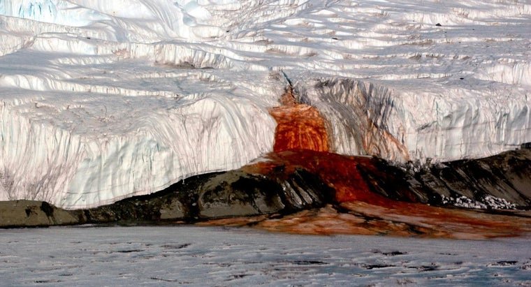 What Makes Blood Falls in Antarctica Appear Red?