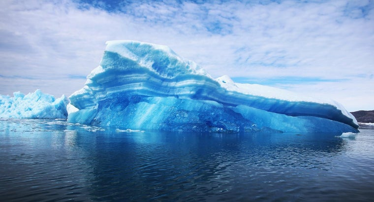 What Is a Blue Iceberg?
