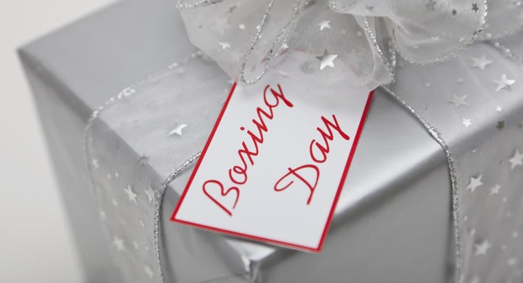 What Is Boxing Day in Canada?