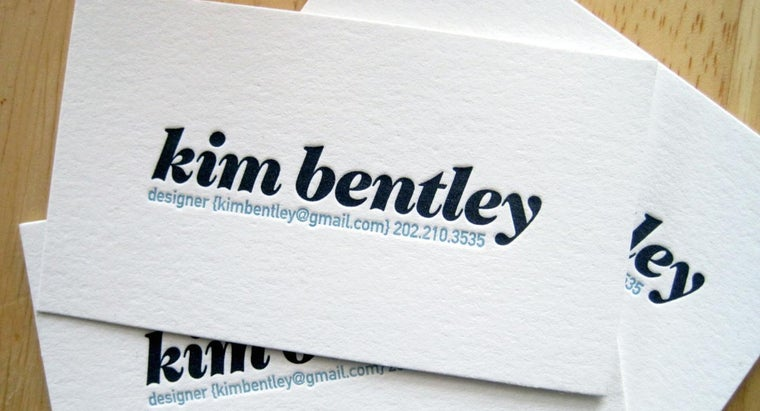 How Are Business Cards Made?