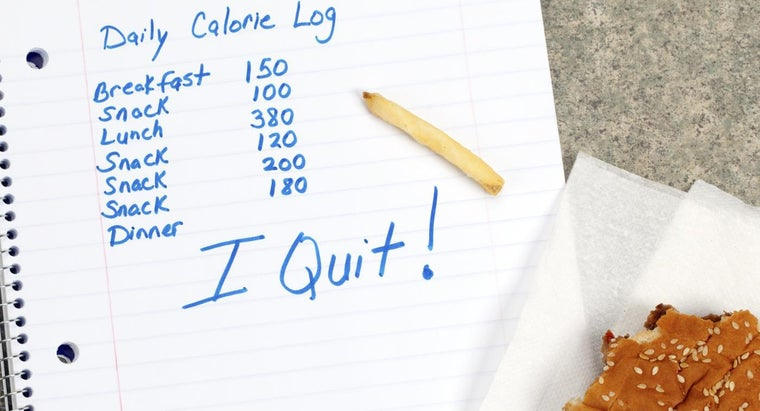 Are Calorie and Carbohydate Counters a Useful Weight Loss Tool?