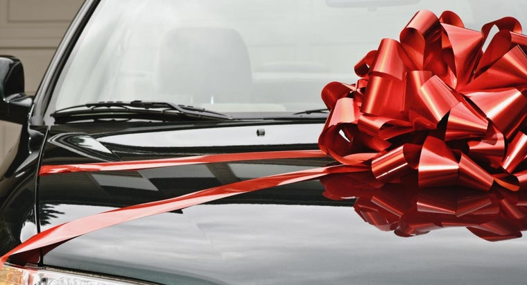 Can Cars Be Considered Gifts on Tax Forms?