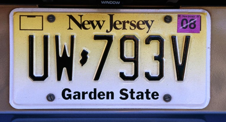 How Can You Check for the Owner of a Specific New Jersey License Plate Number?