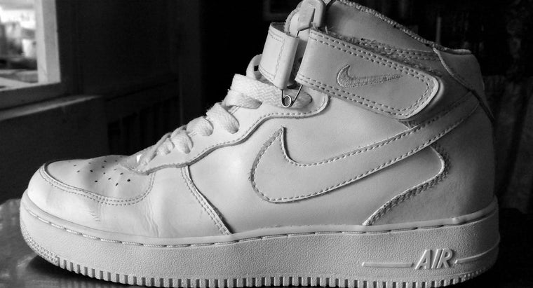 How Can You Clean White Air Force One Shoes?
