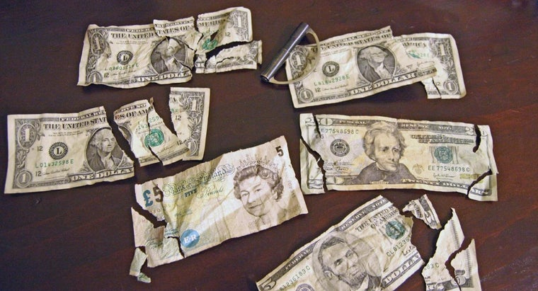 Can I Exchange a Torn $20 Bill for a New One at the Bank?