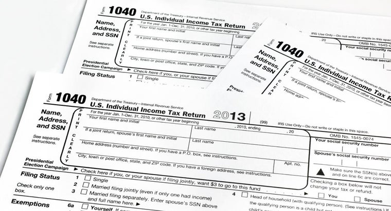 Where Can You Find the Instructions for Filling Out the 2014 1040 Tax Form?