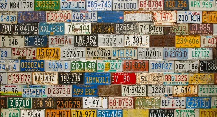 Where Can I Find My License Plate Number?
