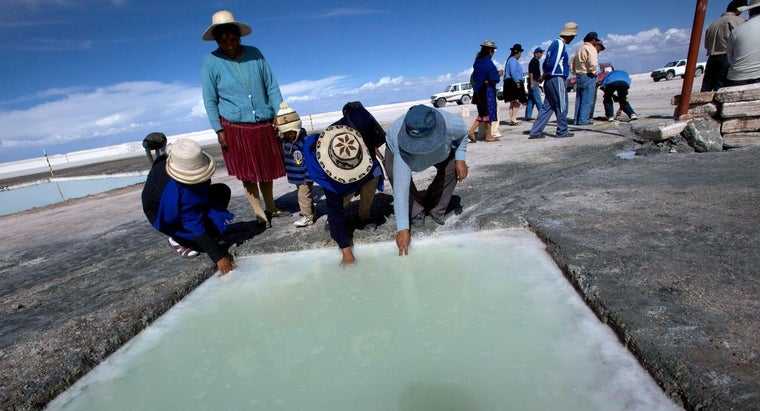 Where Can You Find Lithium?