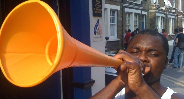 How Can You Make Your Own Vuvuzela?