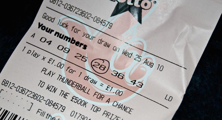 How Can One Calculate Winning Lottery Numbers?