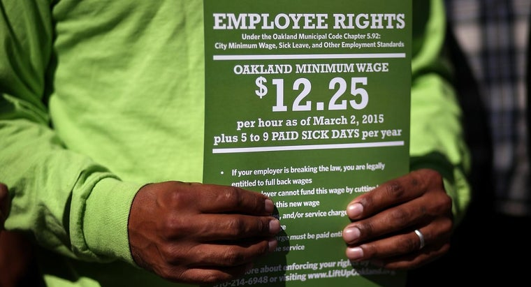 How Can You Find Out What Your State Minimum Wage Is?