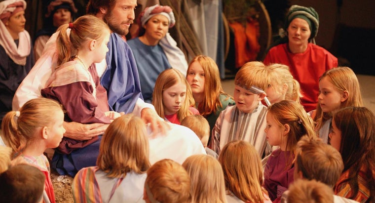Where Can You Find Pictures of Jesus With Children?