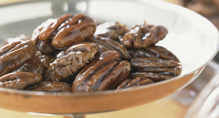 Where Can You Find a Recipe for Making Glazed Pecans?