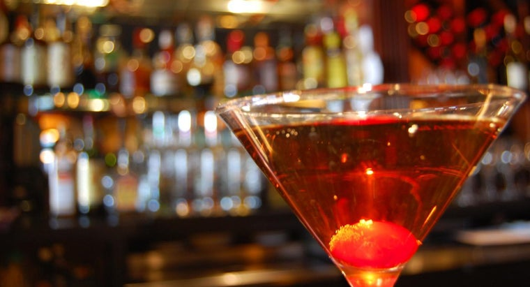 Where Can You Find a Recipe for a Manhattan Cocktail?
