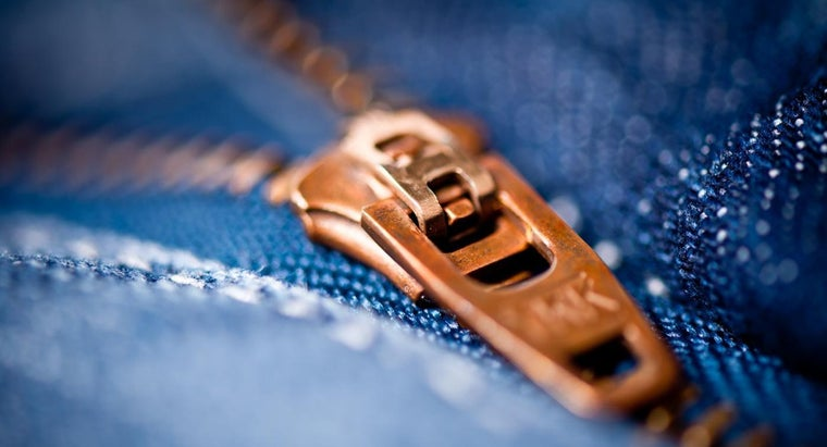 How Can You Stop a Zipper From Unzipping?