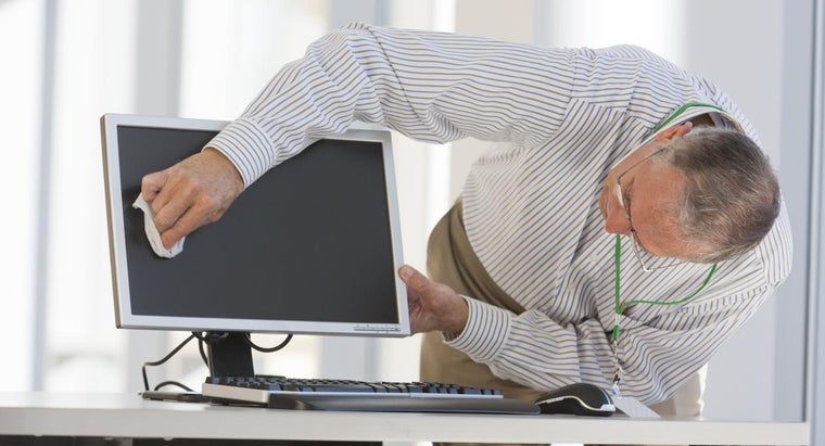 Can You Use Windex to Clean a Computer Screen?
