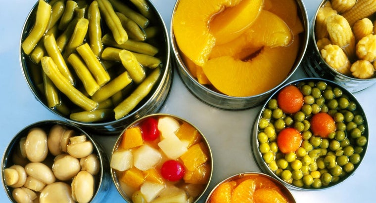 Are Canned Vegetables Dangerous for Diabetics to Eat?