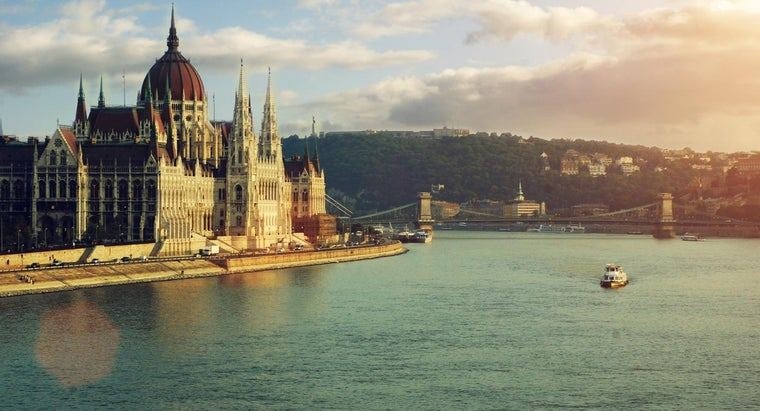 Which Capital Cities Stand on the Danube River?