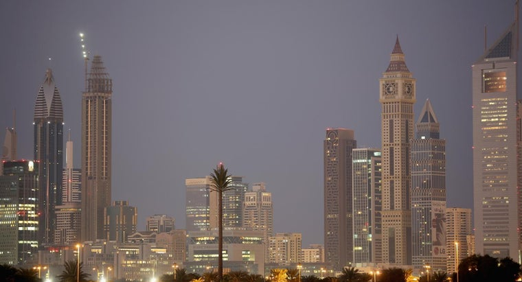 What Is the Capital City of Dubai?