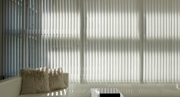 How Do You Clean Vinyl Vertical Blinds?