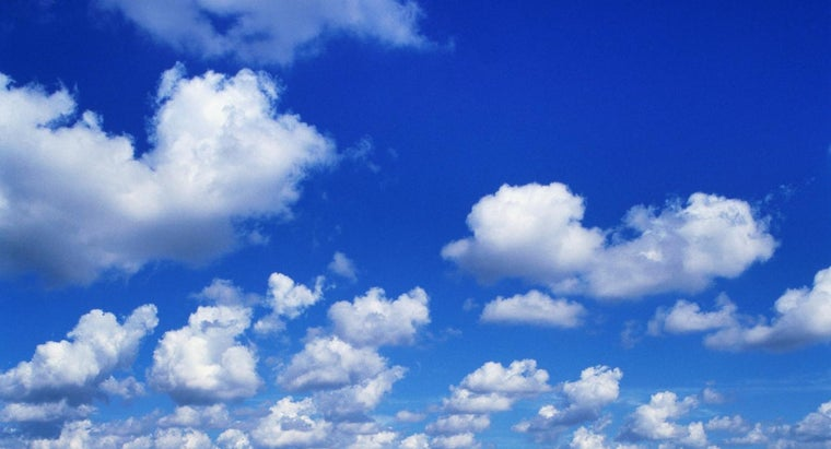 What Is the Name of Clouds That Look Like Cotton Balls?